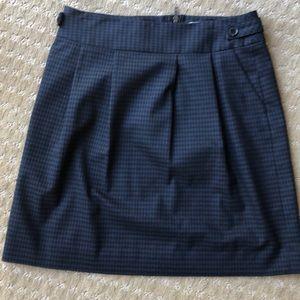 Halogen plaid pattern skirt